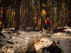 Expresso Slush Slide (kendyck1) Tags: bc mountainbike northshore annie espresso northvancouver mountainbiking fromme