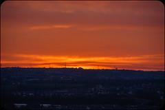 Dark Hills & Morning Sky