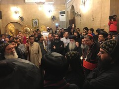 St. Bishoy Monastery (Ronnie R) Tags: church worship cardinal prayer egypt monastery wadi natrun bishoy