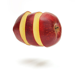 Levitation apple (Geir Vika) Tags: apple floating levitation bildekritikk