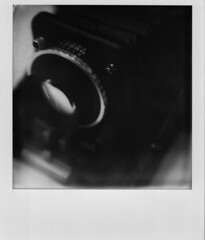 Polaroid Fujifilm FP-1 (jasoncremephotography) Tags: camera blackandwhite film monochrome analog fujifilm filmcamera cameraporn fp1 instantfilm fotorama slr670