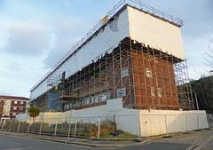 Clowance Street Flats (neuphin) Tags: street scaffolding plymouth flats devon repair rebuild devonport clowance
