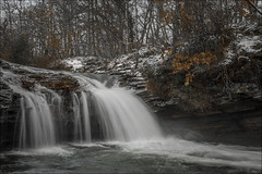Zaldibartxo (Jose Cantorna) Tags: agua nikon nieve alava euskadi araba cascada poza d610 murguía zaldibartxo