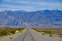 The Road Ahead (faungg's photos) Tags: california road travel usa mountains west nature landscape us nationalpark roadtrip deathvalley