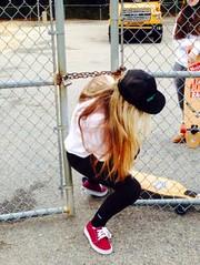longboard girls vans (longboardsusa) Tags: girls usa skate longboard vans skateboards longboards longboarding