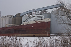 American Victory (Superior, WI) (stannmu) Tags: wisconsin boat superior lakesuperior freighter americanvictory americansteamship