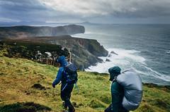 (Oisin Patenall) Tags: ireland head horn donegal hillwalking olympusom10 fujicolorsuperia200 wildatlanticway