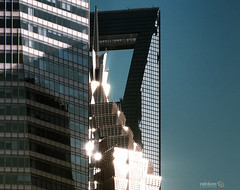 Square Fusion (Andy Brandl (PhotonMix.com)) Tags: urban architecture nikon skyscrapers shanghai squareformat pudong d800 orientalpearltower architecturaldetails swfc photonmix