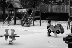 Seul. (Tuch75) Tags: street paris square photography alone rue enfant seul jeux