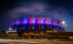 SuperDome_DHills (mrjazz2k2) Tags: new sunset orleans neworleans superdome canon7d
