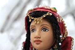 Close up of Leyla (Magical_Dollies) Tags: red detail girl turkey gold doll pretty dolls picture leyla americangirl lovedolls dollphotography turkishdoll girlsofmanylands dollsofflickr magicaldollies girlsofmanylandsleyla