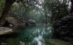 Foggy stream (ahmadkamal92) Tags: pakistan 6 trail islamabad margallahills trail6 landscapesdreams