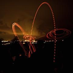 On fire (Caropaulus) Tags: longexposure lightpainting night fire alsace tradition spark nuit feu expositionlongue dieffenthal schieweschlawe etincelle