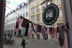 Pie Place (domit) Tags: window copenhagen pie hearts lunch american eastpak