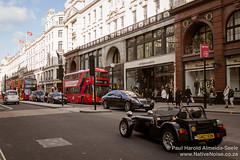 Vintage Car on Regent Street, London