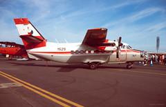 1525 (Al Henderson) Tags: england unitedkingdom aviation military airshow gb let raf fairford 410 dunfield l410 1525 czechairforce 344squadron iatriat