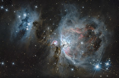 M42 - The Orion Nebula (Antoine Grelin) Tags: longexposure vegas usa abstract man canon dark stars desert space nevada cluster ngc surreal 8 running galaxy nebula astrophotography orion m42 bubble atlas astronomy henderson messier core t3i astronomie eqg 600d astrophotographie astrograph