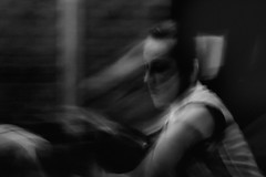 movement 69 (Dirk Delbaere) Tags: light portrait people blackandwhite mist distortion motion blur girl monochrome fog dark kid movement haze focus energy looking darkness mask emotion time spirit dream surreal atmosphere scene move flux shade agility rush shake passing moment hazy glimpse fleeting brief quick confusion glitch ephemeral atmospheric act flurry locomotion trance daze motility dreamscape mobility obscure transient vitality impermanent transitory commotion vivacity flitting
