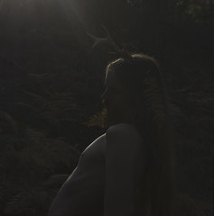 Ancestral awakening (Dryade Photography) Tags: nature forest god deer antlers celtic pagan horned