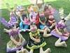 coelhada reunida (Pina & Ju) Tags: bunny cores easter boneco handmade chocolate artesanato plush páscoa feltro patchwork coelho decoração tecido enfeite conejos cenoura