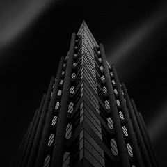 """""""Asymmetry"""" - Architectural Fantasy #6 (josesuro) Tags: longexposure bw architecture digital tampa tampabay florida fineart cityscapes cameras locations lenses 2016 camerasandlenses afsnikkor1835mmf3545ged jaspcphotography nikond750"""