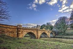 Alnwick Bridge - Northumberland. (MarkWoods2) Tags: bridges northumberland hdr alnwickcastle riveraln alnwickbridge