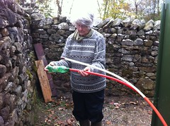 bronwen catching the sponge (b4ruralnorth) Tags: yorkshire lancashire jfdi cumbria spades barnstormers heroines b4rn digitalbritain ladiesofgrit