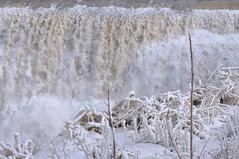 Before the fall (Jerry Godwin) Tags: ice waterfall spray lowerfalls geneseeriver