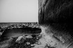 Erosion (Gianpaolo Fusari) Tags: winter england digital sussex coast countryside chalk seaside unitedkingdom cliffs panasonic eastbourne gb beachyhead 2016 sussexheritagecoast lumixgx7 lumixgvario1442f3556ii