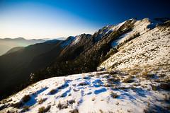 -34 (billlushana1) Tags: sunset mountain snow rock canon landscape outdoor sony taiwan  peaks  taroko hualien  tarokonationalpark  superwide hehuanshan ef1740mmf4lusm  mountain 14 100peaksoftaiwan taiwantop100peaks sonya7r