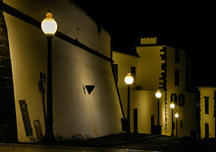 Calcada de Sao Lourenco (waldo.posth) Tags: street night photography sony di lantern tamron madeira 28300mm funchal f3563 pzd slta99v