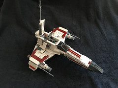 IMG_1240 (lee_a_t) Tags: starwars fighter lego xwing spaceship ewing rebels starfighter darkempire legoxwing legostarfighter legoewing