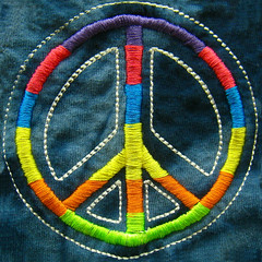 peace sign  (muffett68 ) Tags: colors rainbow colorful squircle peacesign squarecrop slidersunday