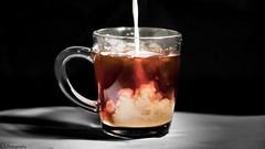 Brewing (C.A.Photogenics) Tags: light colour art cup beautiful contrast milk still mix exposure artistic tea kettle freeze frame mug boil