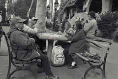 Columbus Park (Mr McCarthy!) Tags: park new york city columbus people blackandwhite usa white ny newyork black game america canon bench table cards island person blackwhite manhattan united unitedstatesofamerica sigma games american northamerica states columbuspark concretejungle 550d