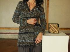 cardigan asimmetrico (stranelane1) Tags: lana wool tricot knitting knit knitted melange cardigan maglia