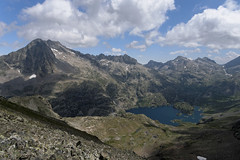 Widok z Pic Musales na wschód
