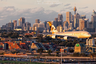 A6-APB Etihad Airways Airbus A380-800 at Sydney Kingsford Smith (Australia)