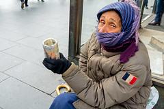 Veronica (Poupetta) Tags: poverty helsinki poor beggar veronica romanian