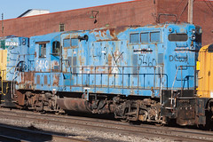 IMG_9726 (rmssch89) Tags: old 3 mountains diesel pennsylvania antique smoke iii rusty class shops scrap deadline alco pocono shortline