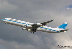 9K-AND | Kuwait Airways | A340-300 (Lindzze Scott) Tags: travel blue female clouds heathrow airbus kuwait departure esso takeoff airbusa340 lhr a340 heathrowairport darksky londonheathrow a340300 kuwaitairways femalephotographer avgeek 27l femaleplanespotter apronmedia lindzzescott