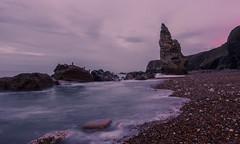 Chemical Beach Blue Hour (steveniceton.co.uk) Tags: ocean longexposure seascape beach sand rocks durham shingle pebbles bluehour seaham countydurham leefilters chemicalbeach liddlestack manfrotto055cxpro3 leebigstopper seahamchemicalbeach leendhardgrad09
