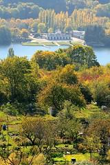 Lac Flix-Kir depuis l'esplanade du chteau de Talant (Charles.Louis) Tags: panorama butte dijon lac bourgogne base jardins kir nautisme ctedor lackir talant