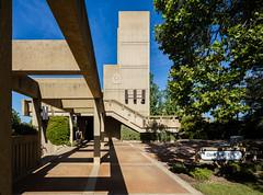 Crafton Hills College (Chimay Bleue) Tags: college concrete williams clocktower trellis hills stewart redlands brutalism beton brutalist yucaipa brut crafton