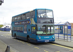 ASC 6419 - GN04UEJ - OSF - CHATHAM DOCKSIDE - SAT 23RD APR 2016 (Bexleybus) Tags: volvo kent dock side southern chatham alexander counties dockyard arriva thameside 6419 alx400 gn04uej