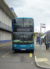 ASC 6419 - GN04UEJ - FRONT - CHATHAM DOCKSIDE - SAT 23RD APR 2016 (Bexleybus) Tags: volvo kent dock side southern chatham alexander counties dockyard arriva thameside 6419 alx400 gn04uej