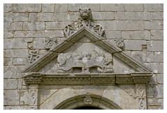 Chapelle Notre-Dame-de-Grce de Travrec - Brec'h (DavidB1977) Tags: france film nikon bretagne fujifilm morbihan f4 chapelle argentique fronton superia200 brech notredamedegrce travrec