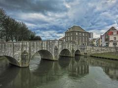 roermond maria theresia Brug IMG_4409 (seyjo) Tags: church river places location maas hdr roermond urbanscape historiccity rur historicbridge dutchcity steenenbrug seyjo steenbrug