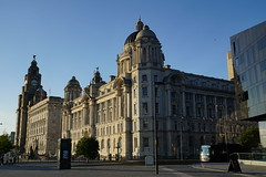 The Royal Liver Building and surrounding area (Chris Dimond) Tags: liverpool liverbirds liverbuilding royalliverbuilding 2015