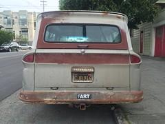 FART car (albedo20) Tags: cars public easter funny fart